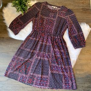 LOFT patchwork dress